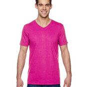 Adult 4.7 oz. Sofspun® Jersey V-Neck T-Shirt